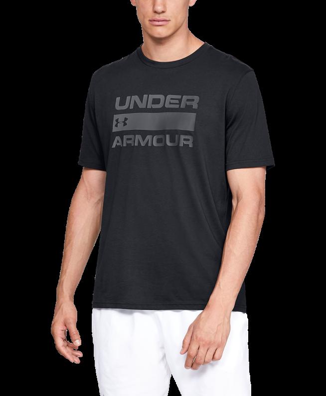 男士UA Team Issue Wordmark短袖上衣