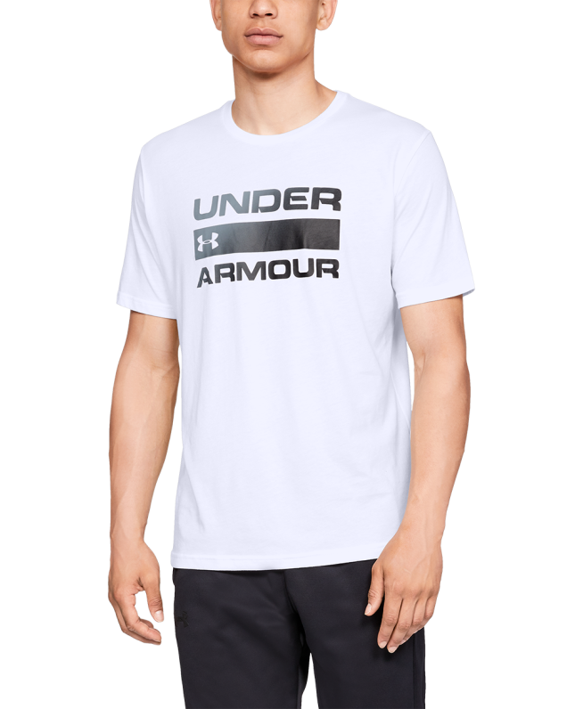 男士UA Team Issue Wordmark短袖T恤