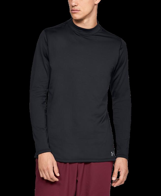 男士UA ColdGear® Armour Fitted高领运动衣