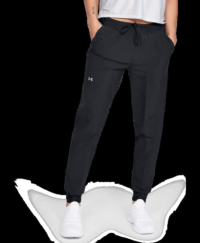 女士UA Armour Sport Woven长裤