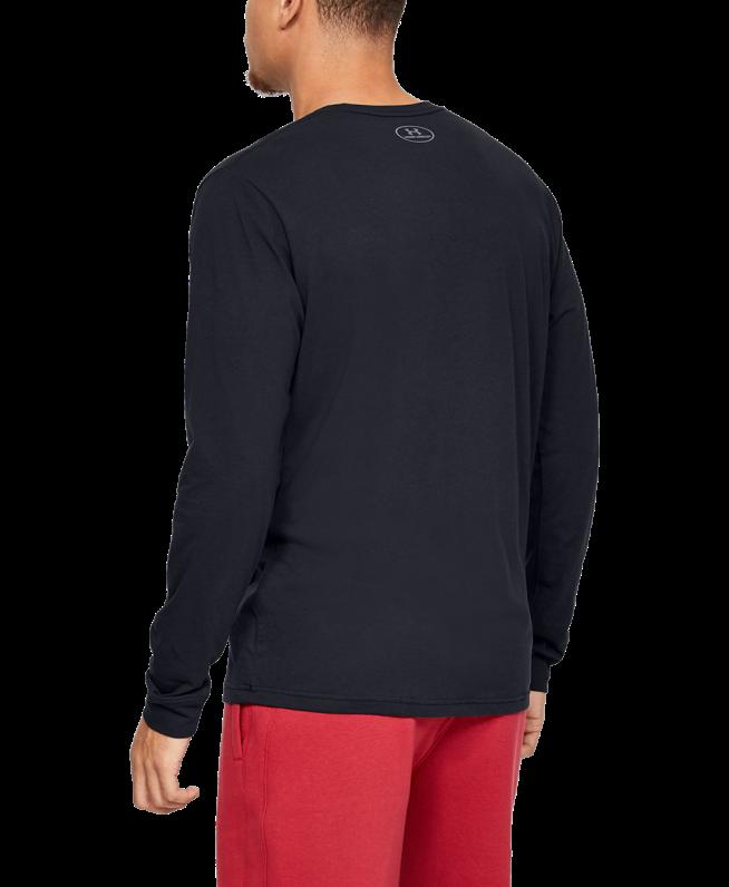 男士UA Sportstyle Left Chest长袖T恤