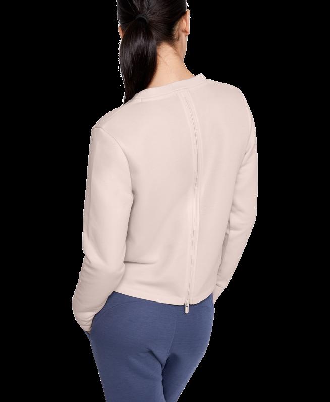 女士UA Unstoppable Move Light Radial Back Pleat圆领运动衣