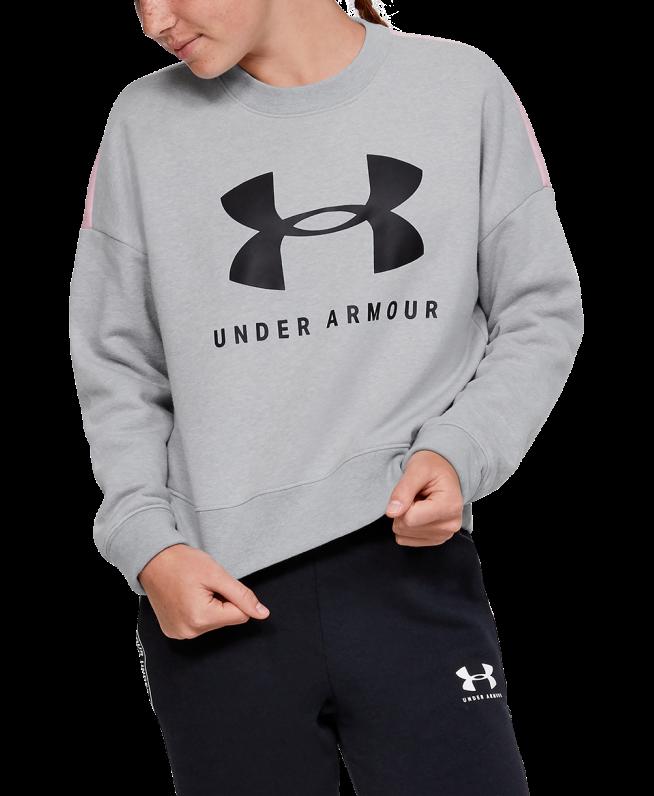 女童UA Sportstyle Fleece圆领运动衣