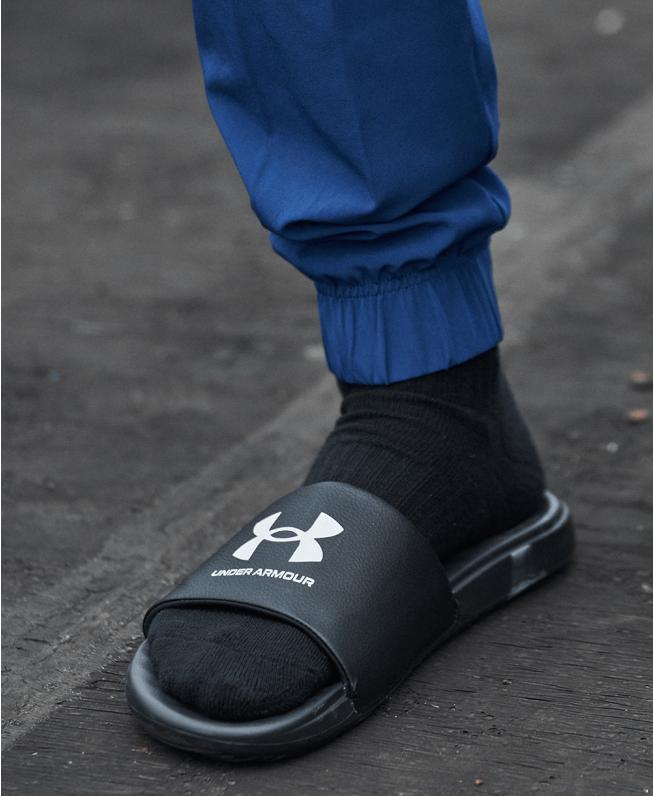男士UA Ansa Fixed拖鞋