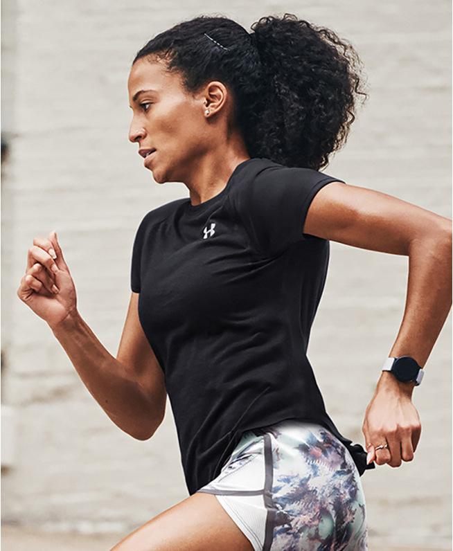 女士UA Speed Strike短袖T恤