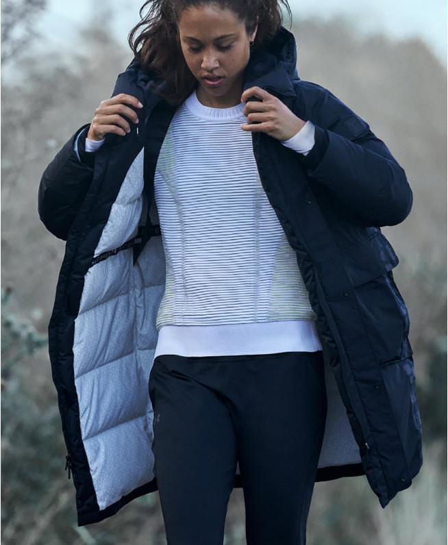 女士UA IntelliKnit Phantom 2.0圆领运动衣