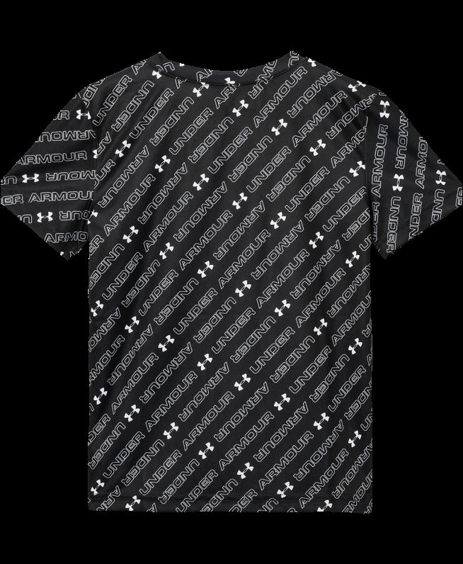 男小童UA Tilted Wordmark短袖T恤