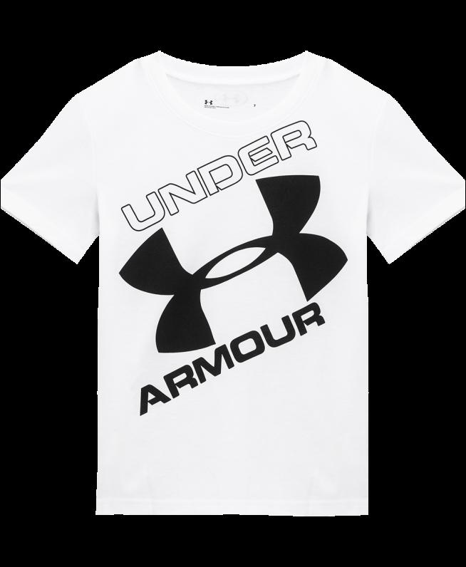 男小童UA Wordmark短袖T恤
