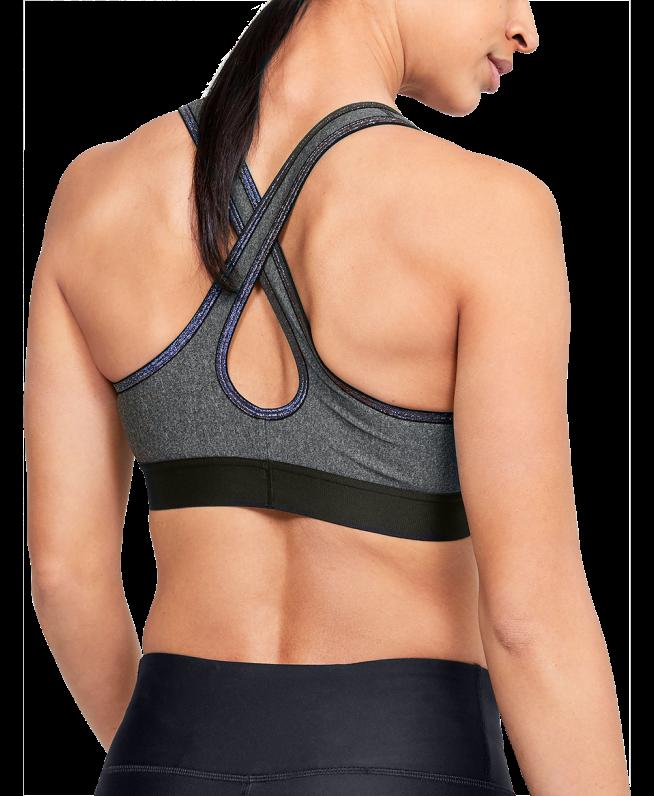 女士UA Armour Crossback运动内衣—中强度