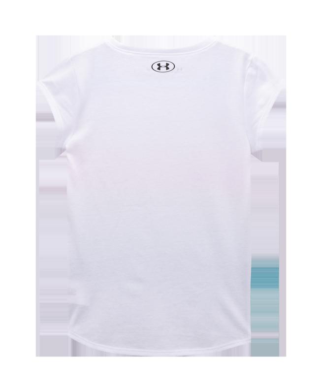女小童UA Ombre Logo短袖T恤