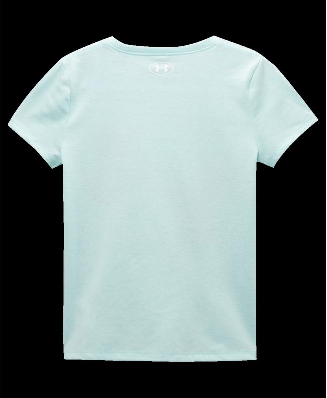 女小童UA Jumbo Logo Slant短袖T恤