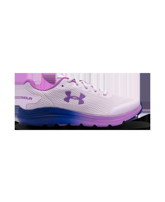 女童UA Surge 2 Frosty跑鞋