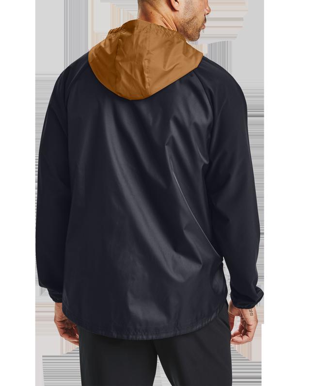 男士UA Stretch Woven拉链夹克