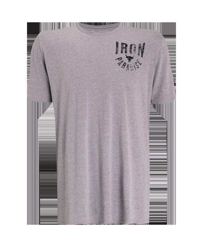 男士Project Rock Iron Paradise短袖T恤