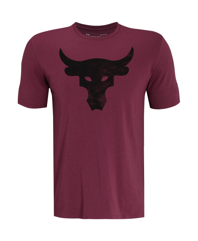 男士Project Rock Brahma Bull Logo短袖T恤