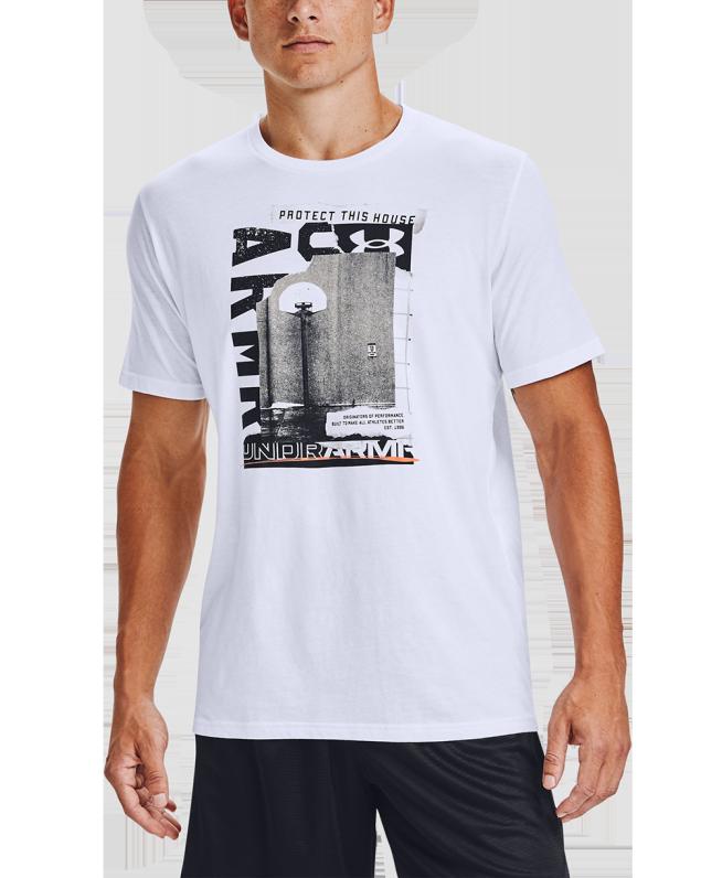 男士UA Photoreal篮球短袖T恤
