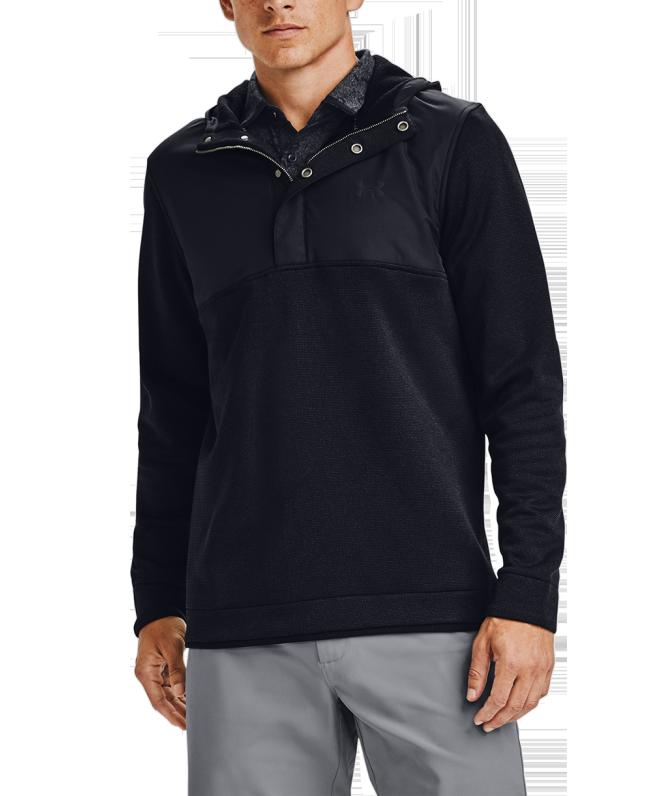 男士UA Storm SweaterFleece连帽上衣