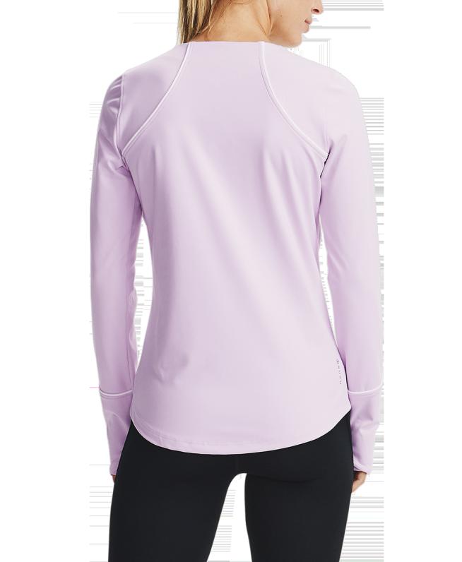 女士UA RUSH ColdGear®圆领运动衣