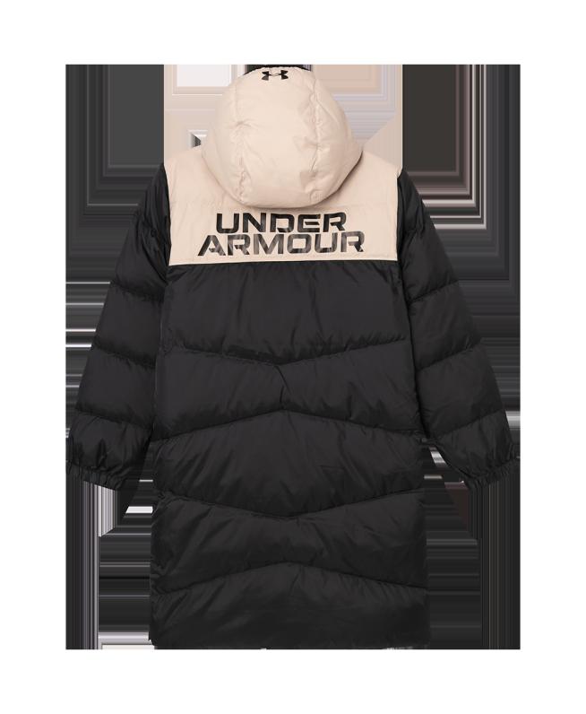 男童UA Bench Puffer羽绒夹克