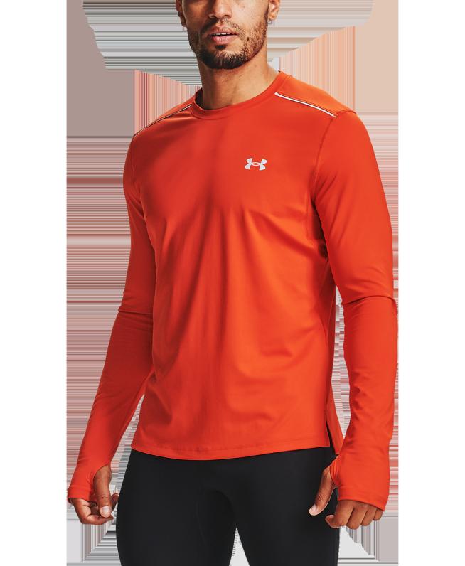 男士UA Empowered长袖圆领运动衣