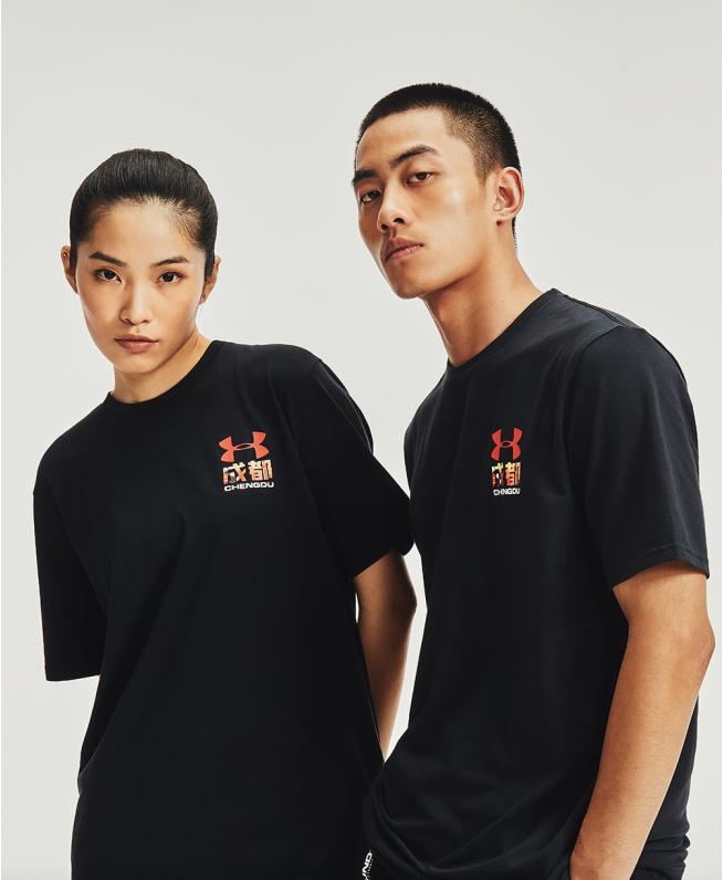 男女同款UA成都城市T恤