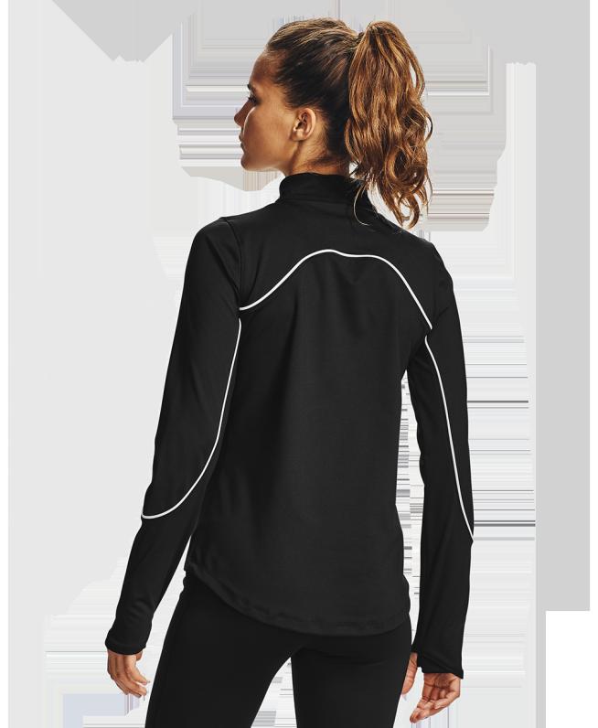 女士UA RUSH ColdGear® Jacquard高领运动衣