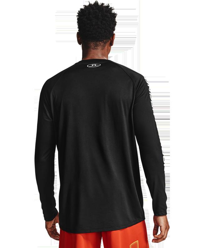 男士UA Tech Triple Logo长袖运动衣