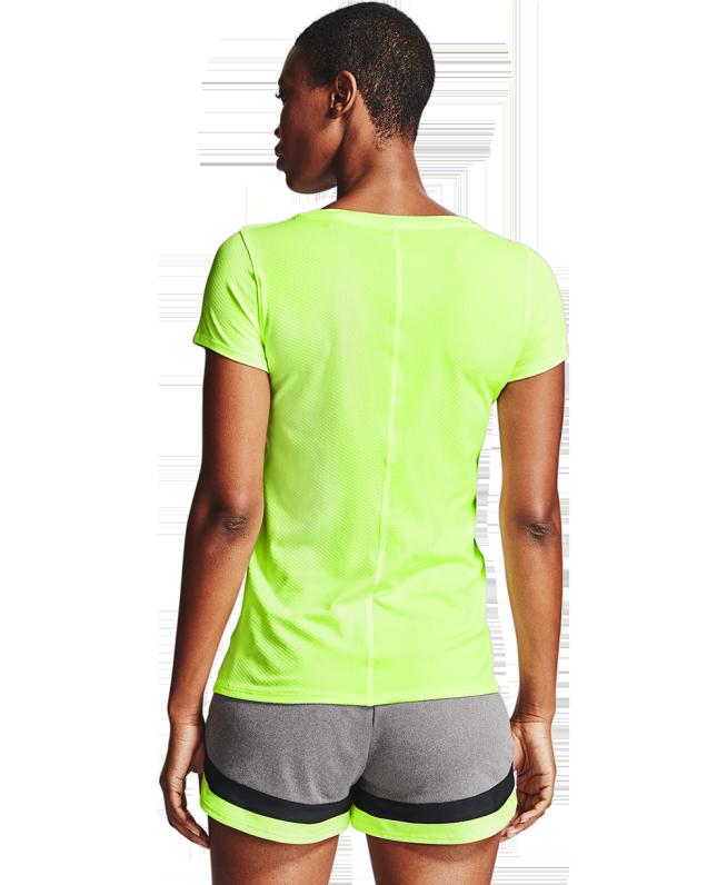 女士HeatGear® Armour短袖T恤