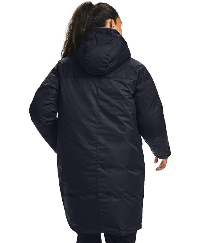 女士UA RECOVER长款羽绒外套