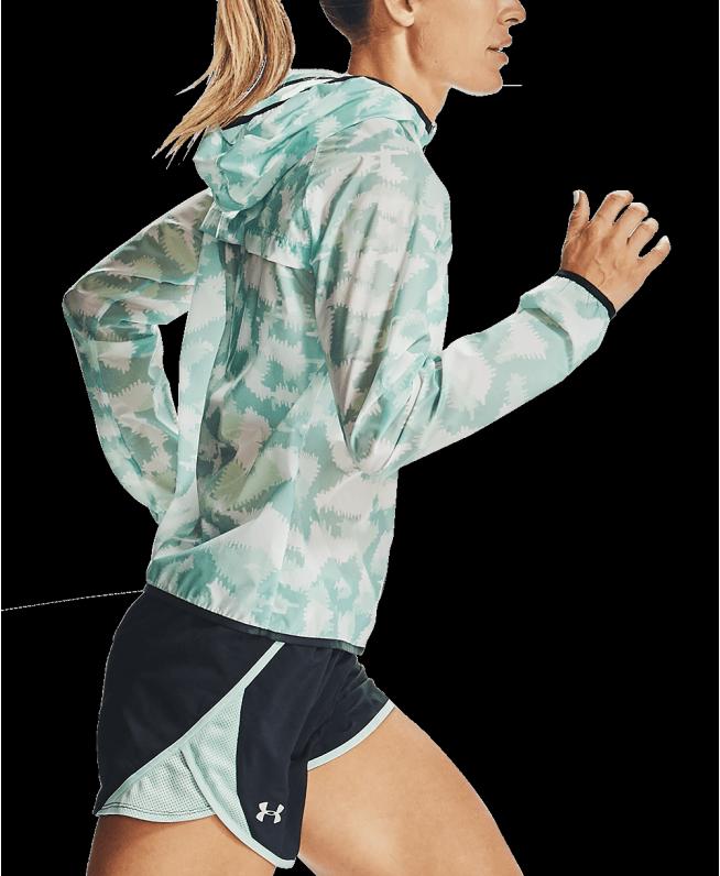 女士UA Run Anywhere Storm夹克