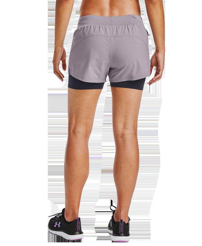 女士UA Launch SW 2合1短裤