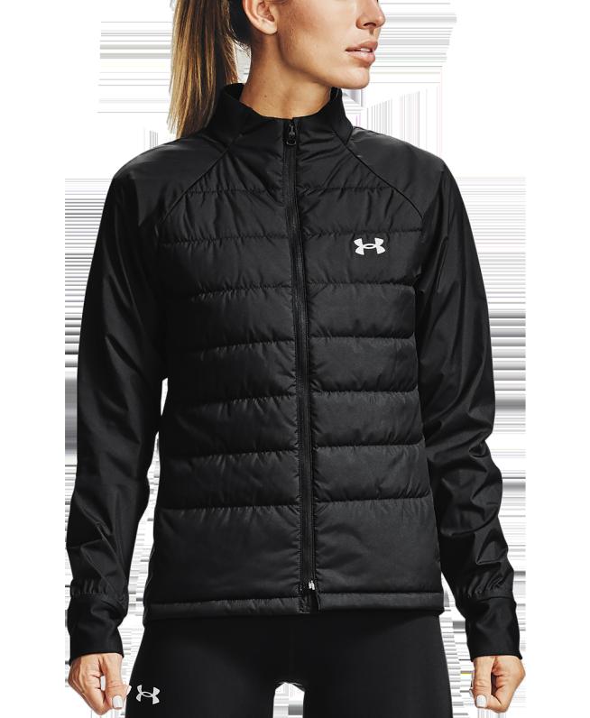 女士UA Insulate Hybrid跑步夹克