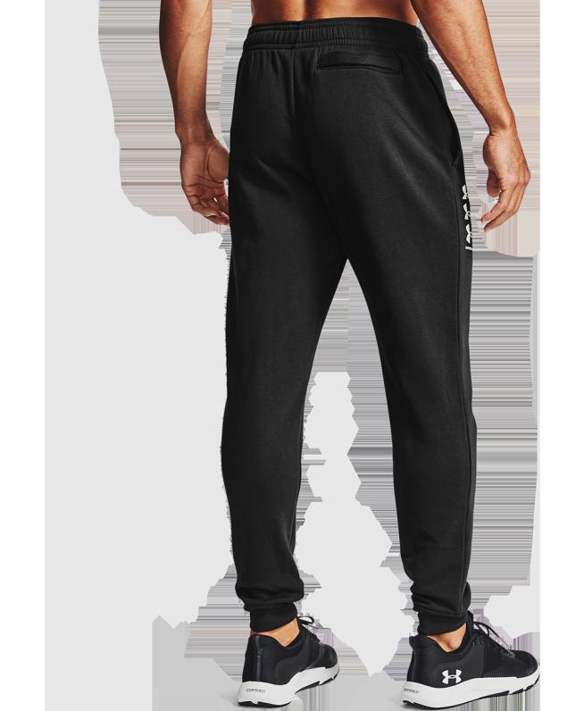 男士UA Rival Multilogo Joggers抓绒长裤