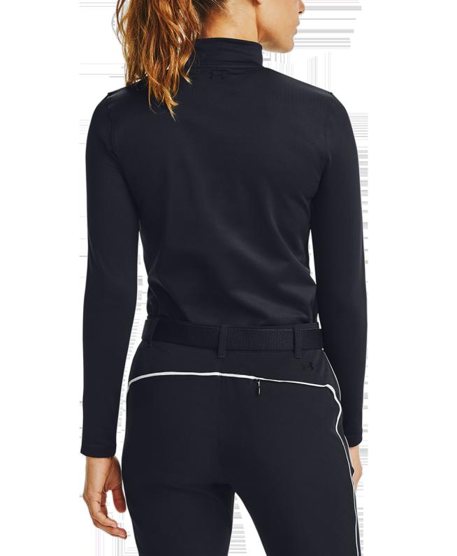 女士UA ColdGear® Infrared高尔夫长袖高领运动衣