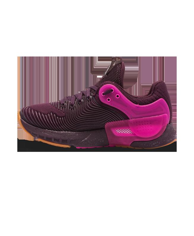 女士UA HOVR Apex 2 Gloss训练鞋