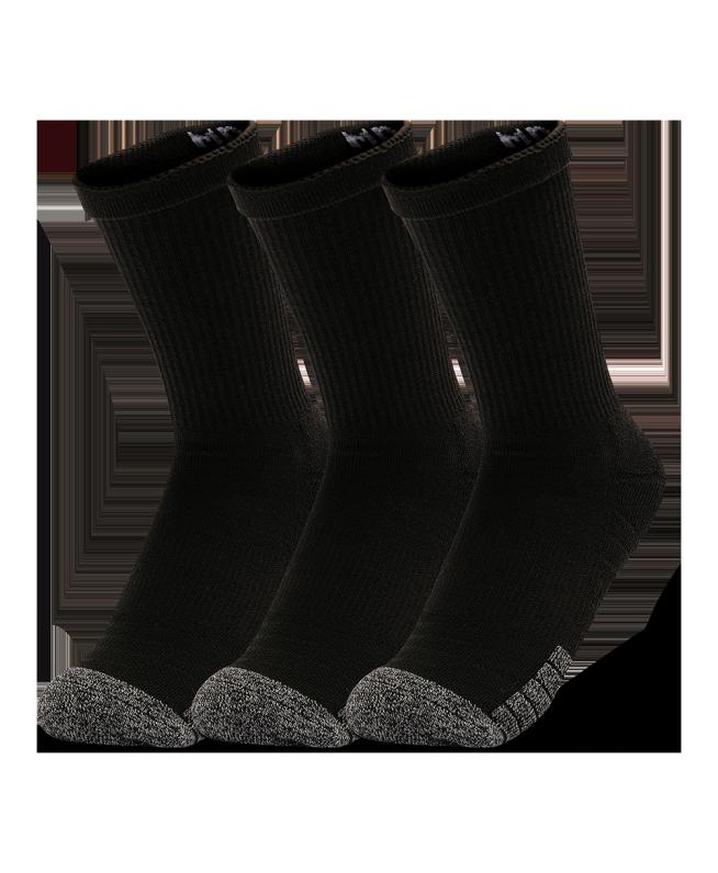 男女同款UA HeatGear® Crew袜—3双装