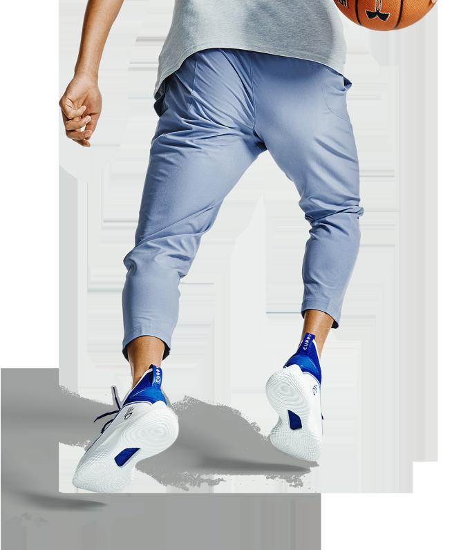 男士UA UNDRTD Crop梭织长裤