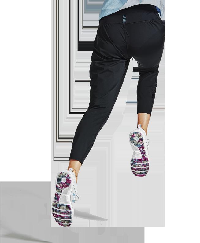 女士UA Anywhere跑步长裤