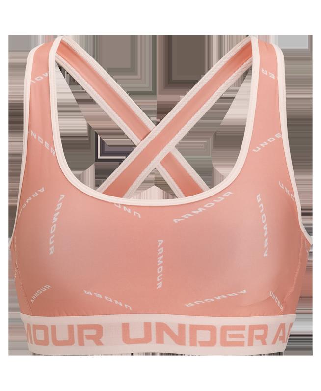女士DFO Crossback印花运动内衣—中强度