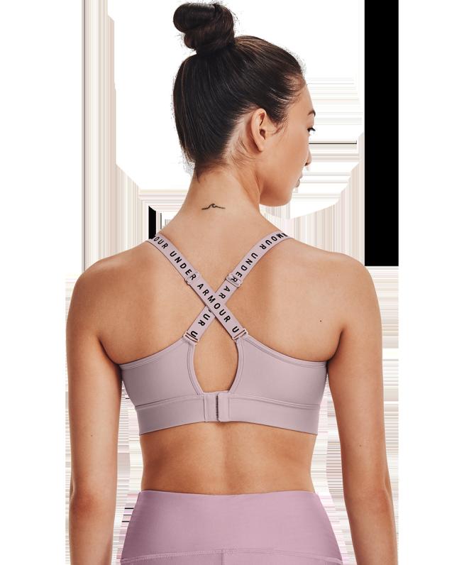 女士UA Infinity Covered运动内衣—中强度