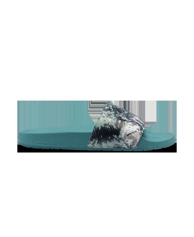 男女同款UA Core Remix印花拖鞋